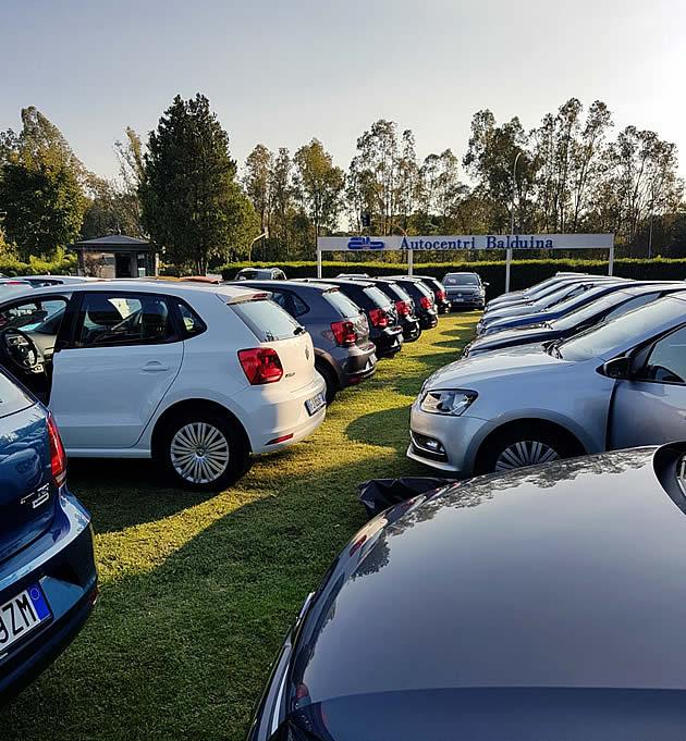 Auto usate nel piazzale Autocentri Balduina