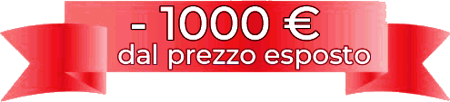 Badge sconto 1000 euro